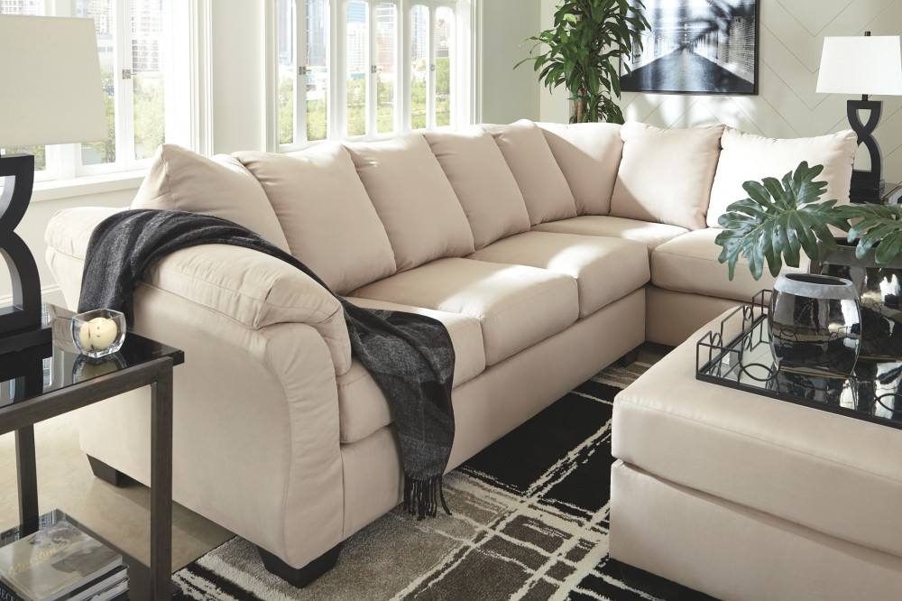 Fine Darcy Darcy 2 Piece Sectional With Chaise And Sleeper Gmtry Best Dining Table And Chair Ideas Images Gmtryco