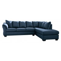 Darcy - Darcy 2-Piece Sectional with Chaise and Sleeper