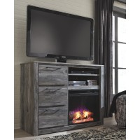 Baystorm - Media Chest with Fireplace