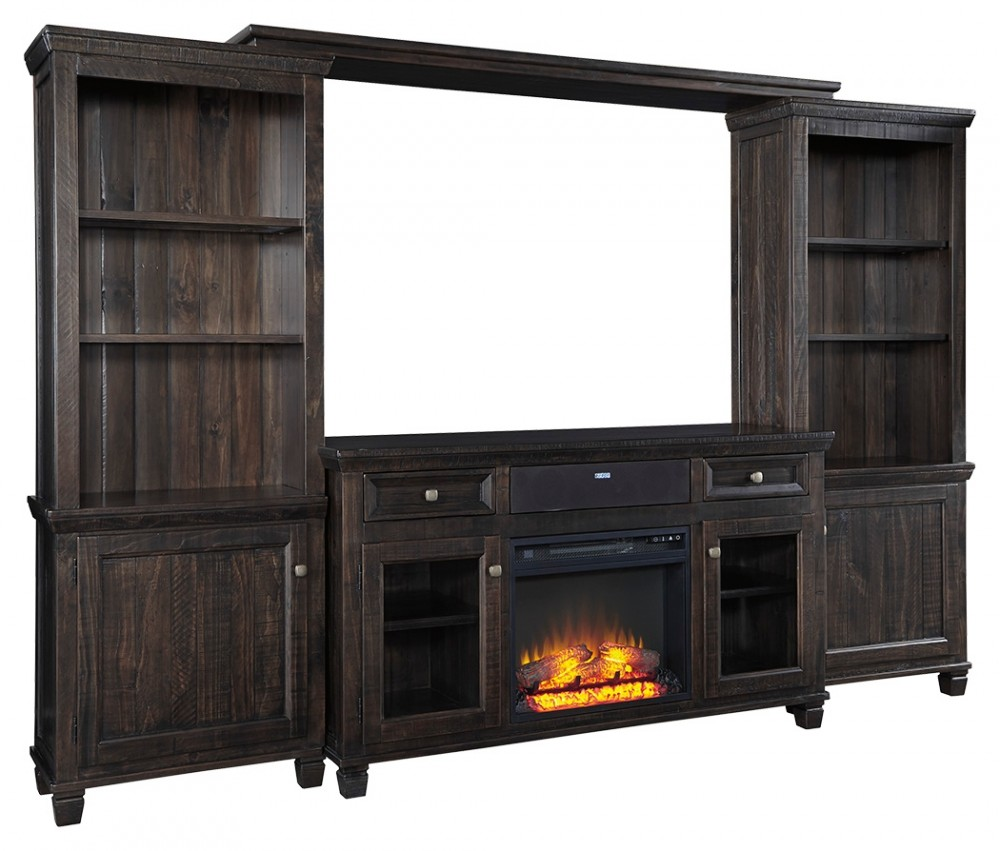 Townser Townser 4 Piece Entertainment Center With Electric