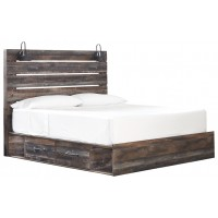Drystan - Drystan King Panel Storage Bed