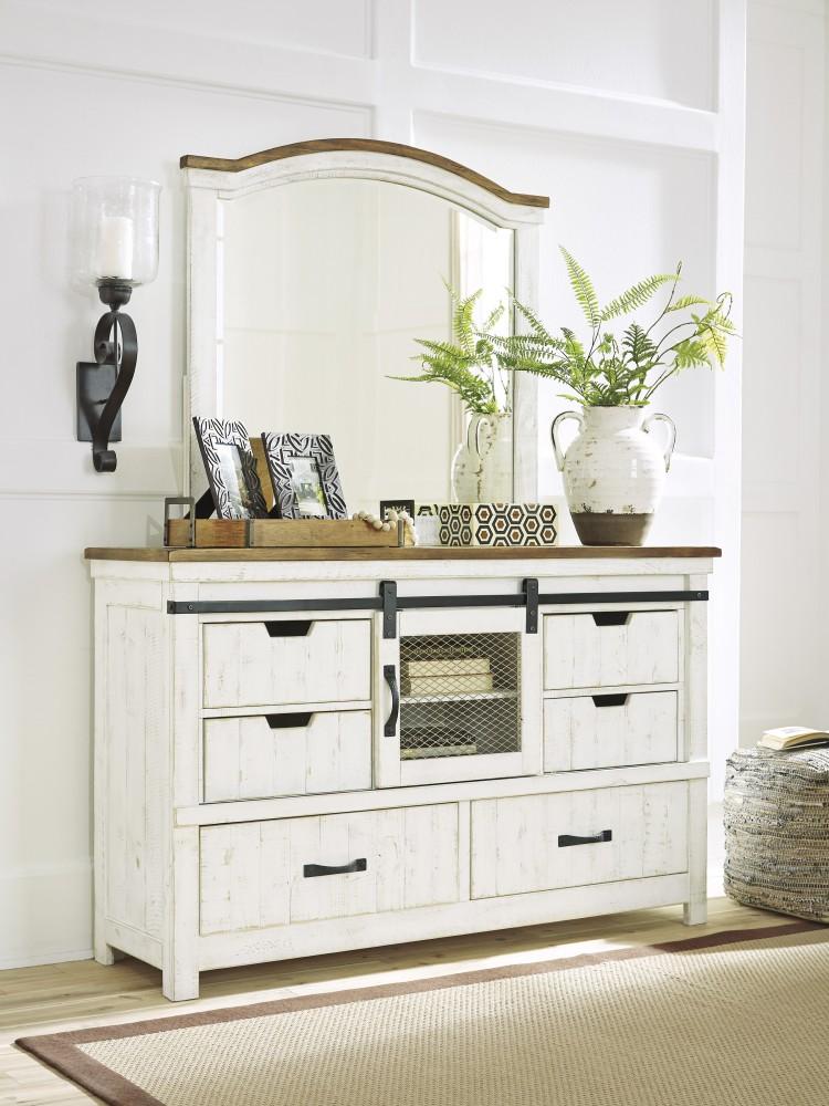 Wystfield - Wystfield Dresser and Mirror