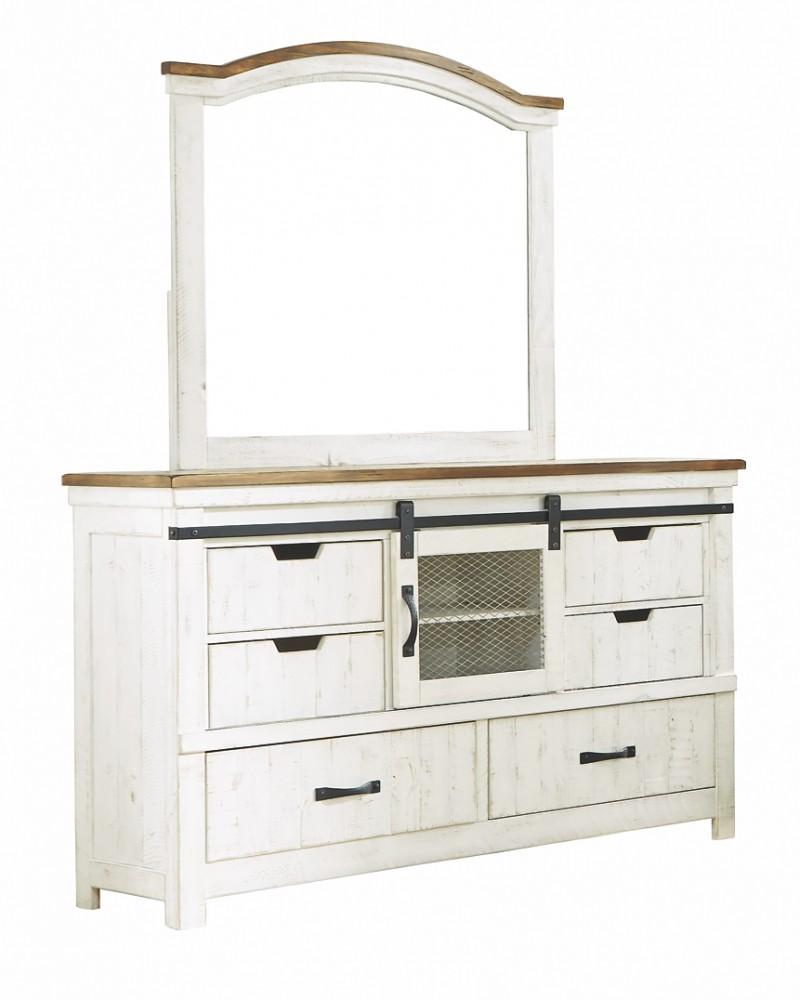 Wystfield - Dresser and Mirror