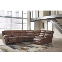 Coahoma - Coahoma 7-Piece Reclining Sectional with Chaise and Power