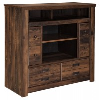 Quinden - Media Chest with Fireplace