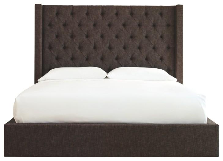 Norrister - California King Upholstered Bed