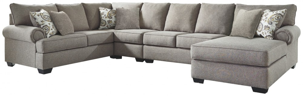 Renchen - 4-Piece Sectional with Chaise