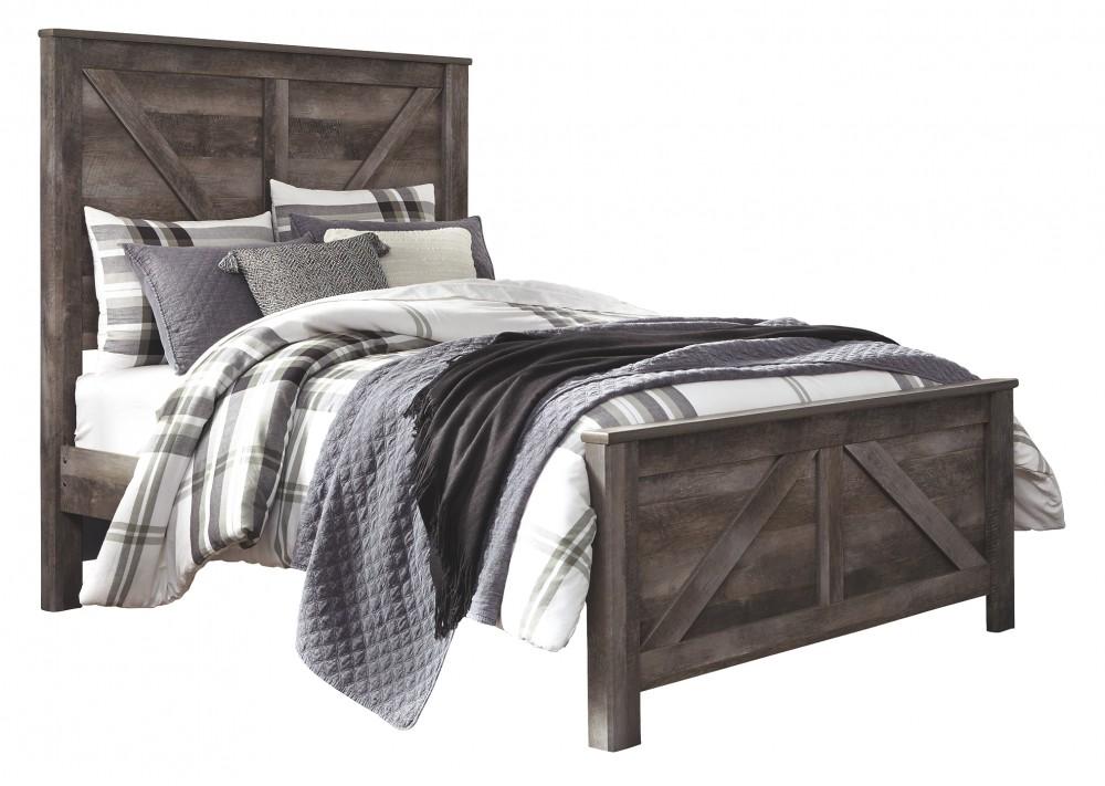 Wynnlow - Queen Crossbuck Panel Bed