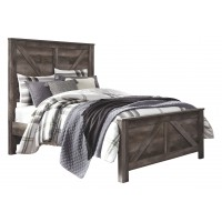 Wynnlow - Wynnlow Queen Crossbuck Panel Bed