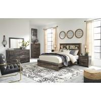 Drystan - Queen Bookcase Bed