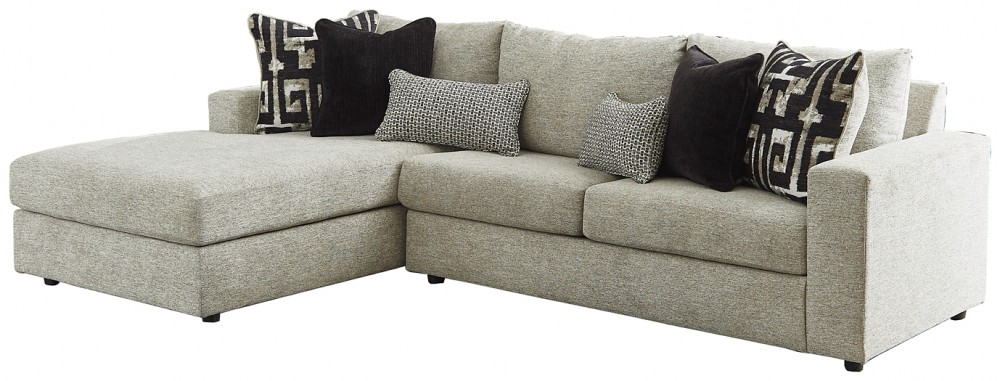 Ravenstone - 2-Piece Sleeper Sectional with Chaise