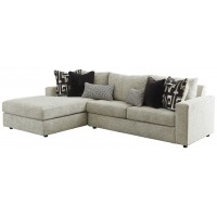 Ravenstone - Ravenstone 2-Piece Sectional with Chaise and Sleeper