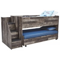 Derekson - Twin Loft Caster Bed
