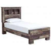 Derekson - Twin Panel Bookcase Bed