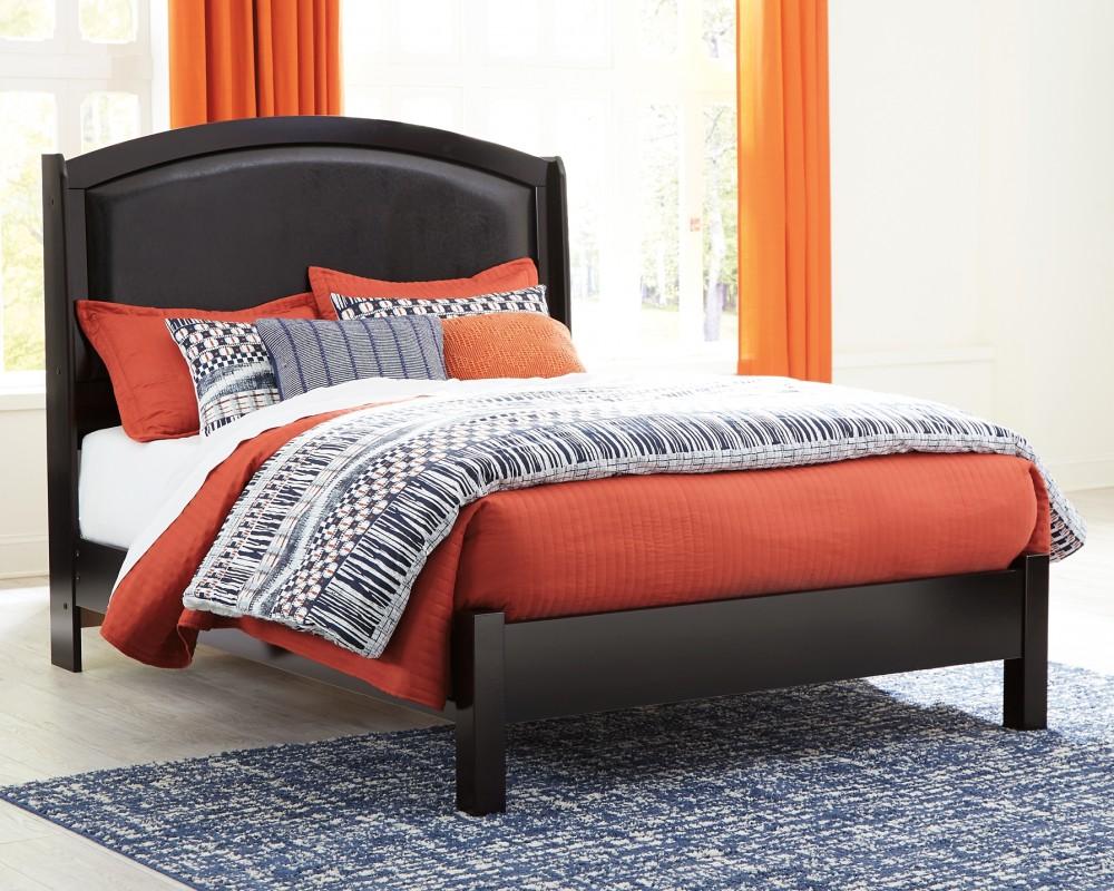 Minota - Minota Queen Upholstered Sleigh Bed