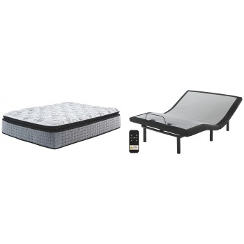 Mt Rogers Ltd Pillowtop - Queen Adjustable Base with Mattress