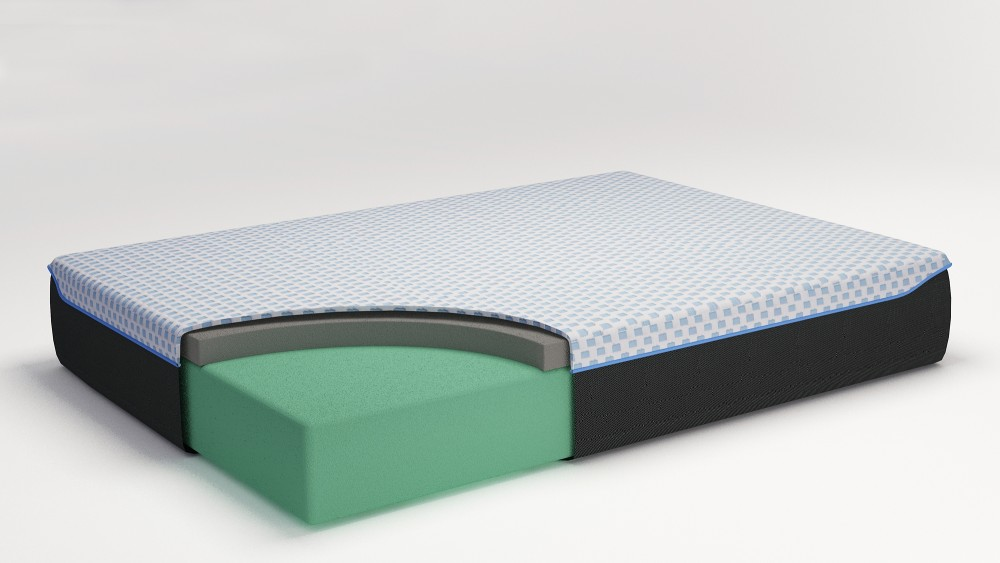 12 Inch Chime Elite - 12 Inch Chime Elite Queen Adjustable Base with Mattress