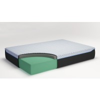 12 Inch Chime Elite - Queen Adjustable Base with Mattress