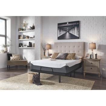 12 Inch Chime Elite - 12 Inch Chime Elite King Adjustable Base with Mattress