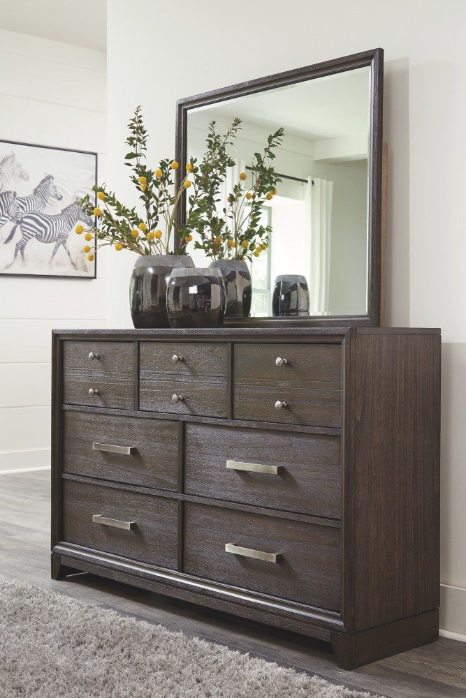 Brueban - Dresser and Mirror