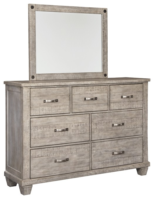 Naydell - Dresser and Mirror