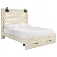Cambeck Queen Panel Bed with Storage