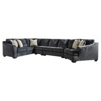 Eltmann 4-Piece Sectional with Cuddler