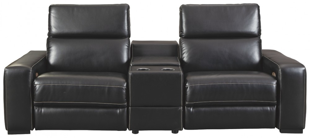 Mantonya - 3-Piece Power Reclining Sectional