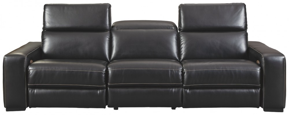 Mantonya - 3-Piece Reclining Sectional with Power