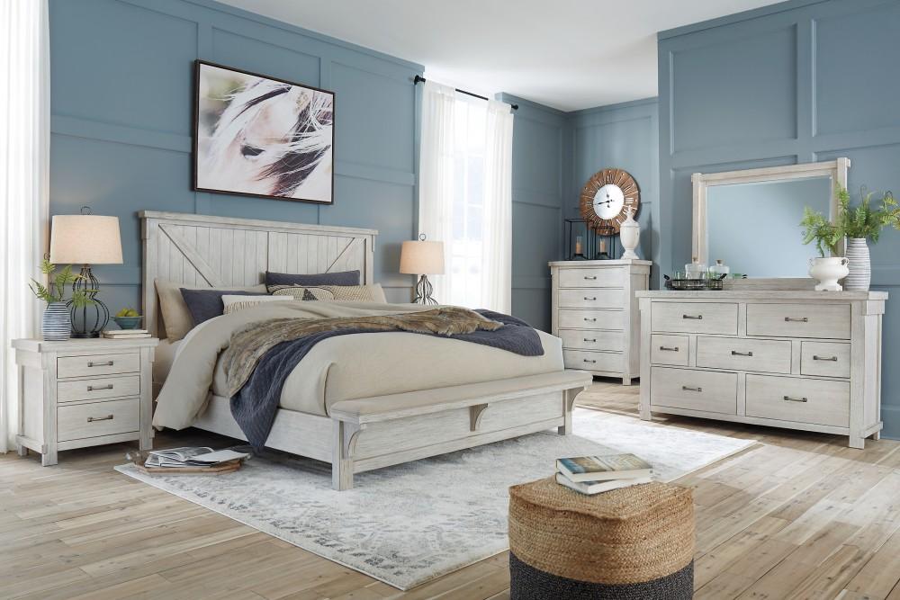 Brashland - King Panel Bed