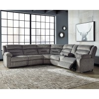 Malmaison - Malmaison 4-Piece Reclining Sectional with Power