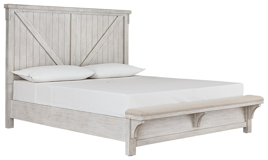 Brashland - Queen Panel Bed