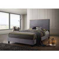 DELORA QUEEN BED GREY