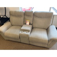 Reclining Loveseat as-is