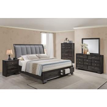 Bev Dresser Mirror Queen Bed