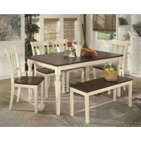 Whitesburg 6-Piece Dining Room Package