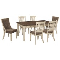 Bolanburg - 7-Piece Dining Room Package