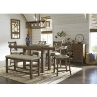 Moriville 7-Piece Dining Room Package