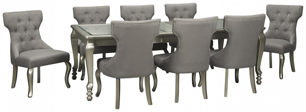 Coralayne - 9-Piece Dining Room Package
