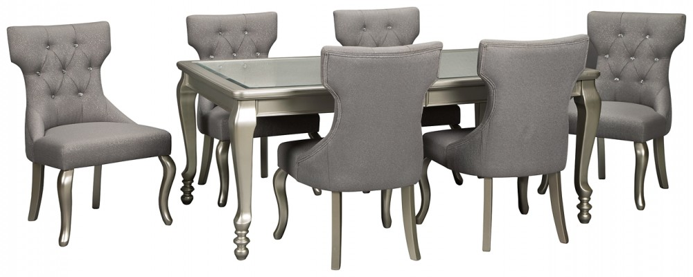 Coralayne - 7-Piece Dining Room Package
