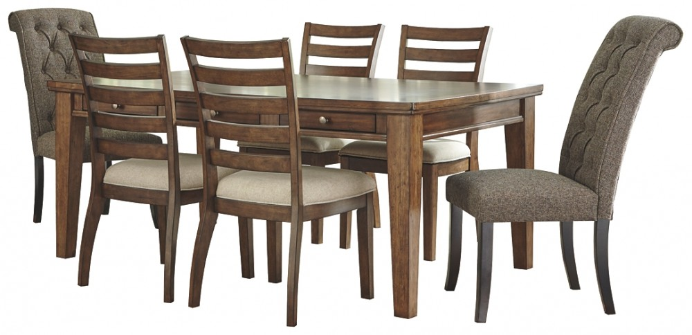 Flynnter - 7-Piece Dining Room Package