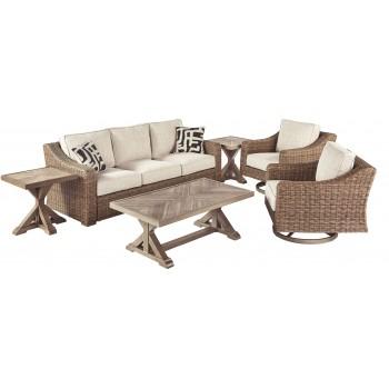 Beachcroft - 5-Piece Outdoor Conversation Set