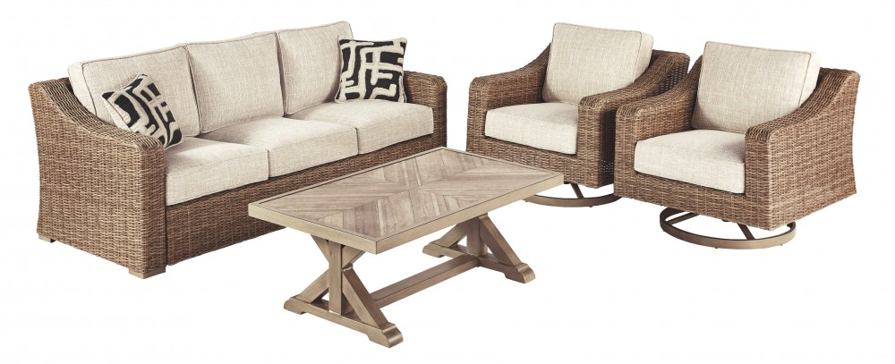 Beachcroft - 4-Piece Outdoor Conversation Set
