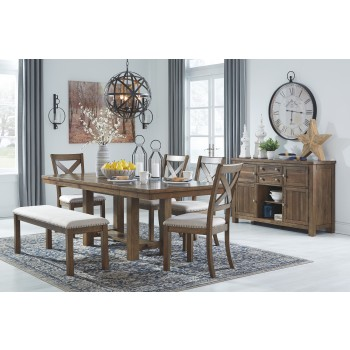 Moriville - 6-Piece Dining Room Package