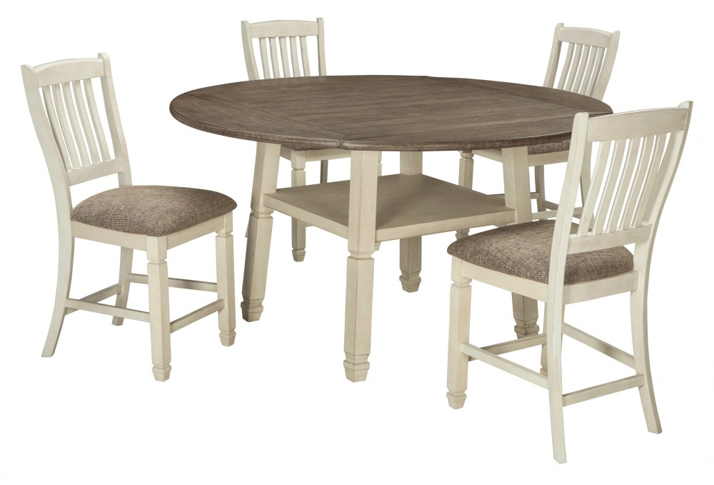 Bolanburg - 5-Piece Dining Room Package