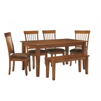 Berringer - Dining Table and 4 Chairs and Bench