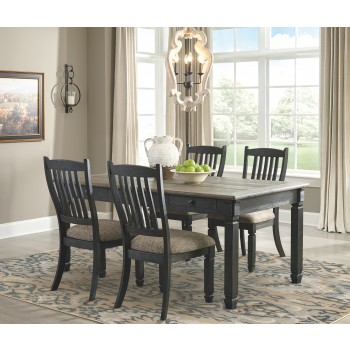 Tyler Creek - Dining Table and 4 Chairs