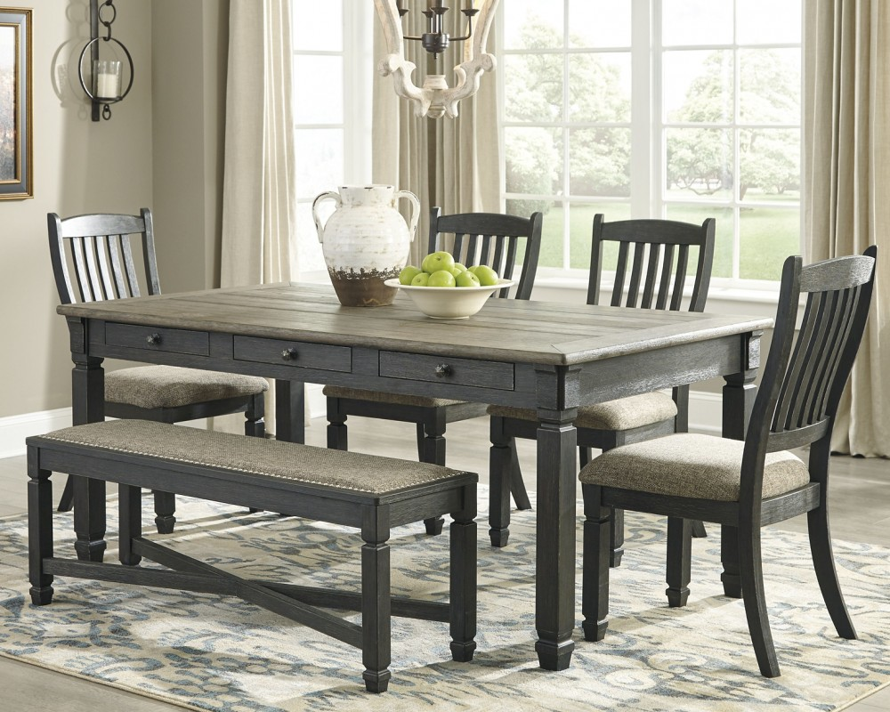 Bolanburg - 6-Piece Dining Room Package