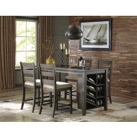 Rokane 5-Piece Counter Height Dining Room Package
