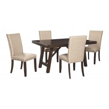 Rokane - Dining Table and 4 Chairs